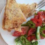 Sandwich cu două feluri de brânză la grătar, pentru dimineţile reci