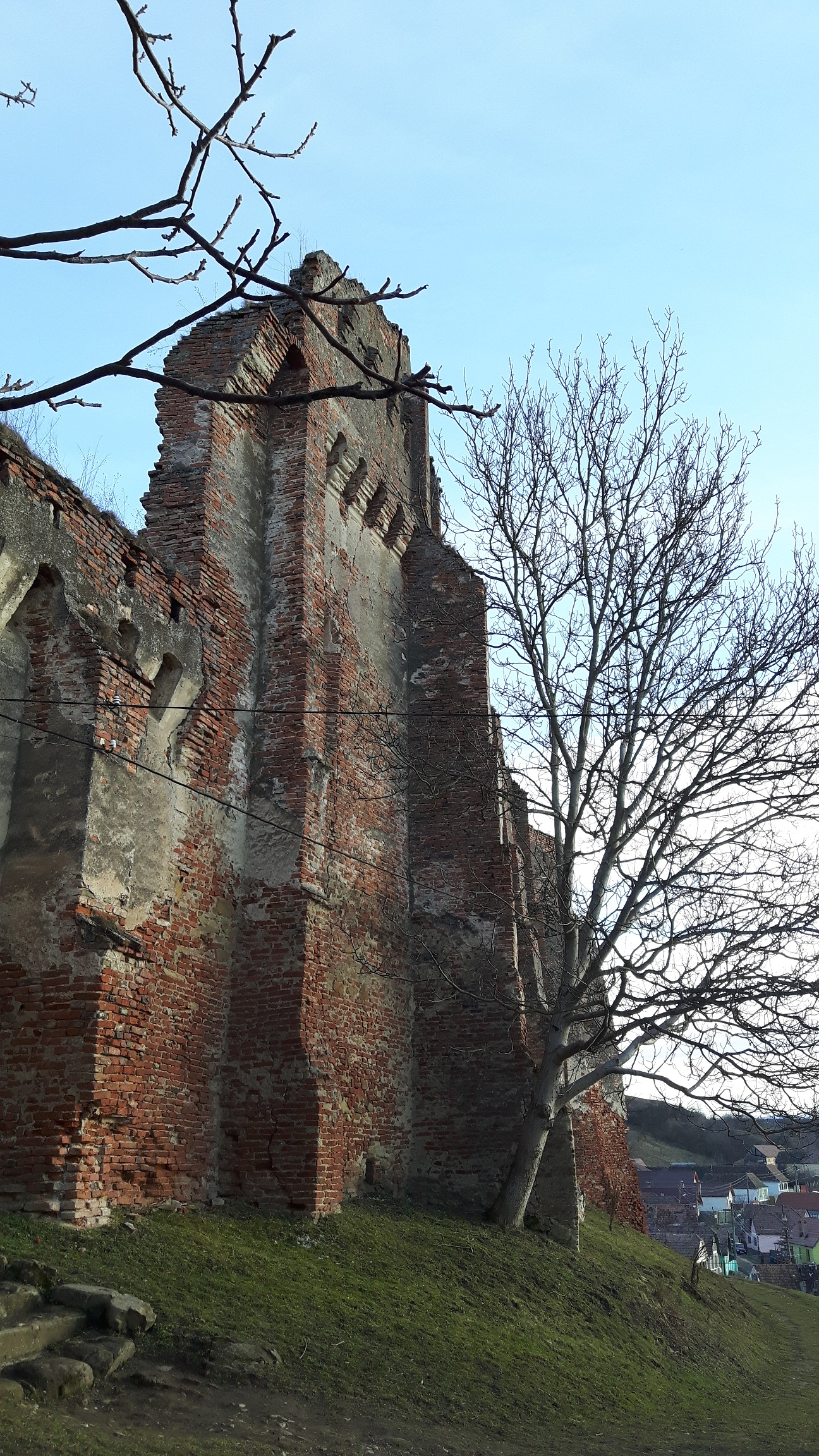 Stolzenburg, cetatea de la Slimnic construită de o vrăjitoare