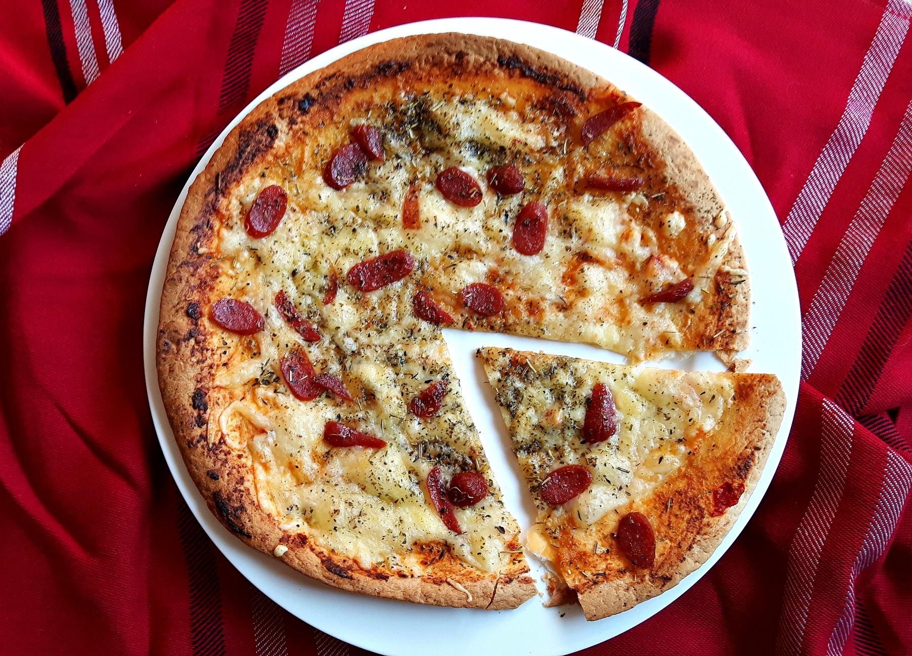 Light & Fast. Cea mai rapidă pizza din lume