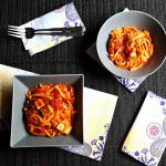 Rețetă vegană (de post). Tofu tandoori cu paste, de inspirație indiană