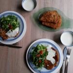 Sos de gorgonzola cu…şniţel de curcan (clasic)