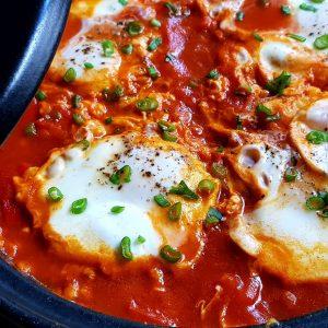 Shakshouka - sau cum se gătesc ouăle în Orient