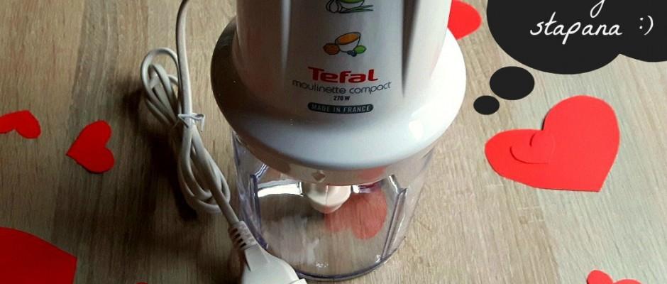 Tocătorul electric de la Tefal și-a găsit stăpâna :)
